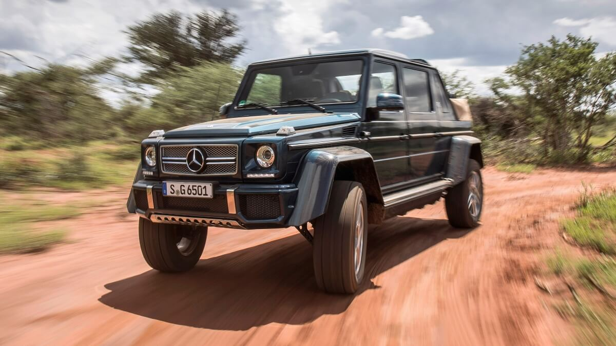 AIL News Mercedes G-Klasse