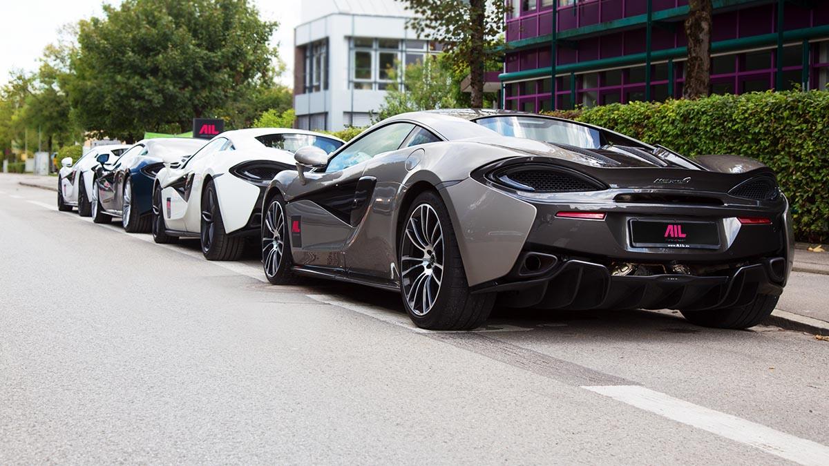 AIL Special – McLaren – Fahrspaß unlimited
