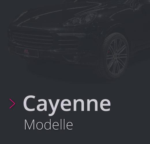 AIL Porsche Vielfalt Baureihe Cayenne