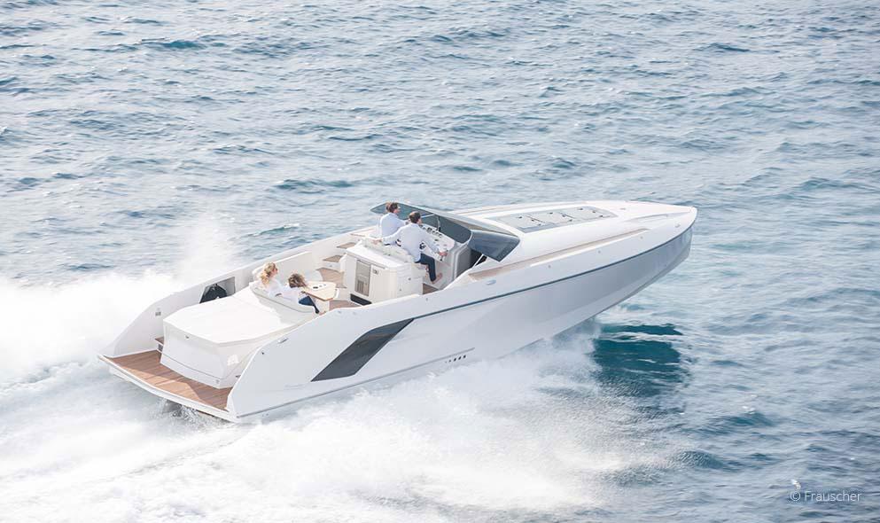 Frauscher Bootsfahrt