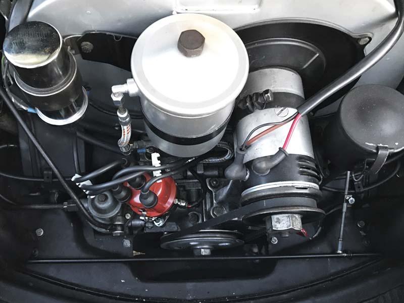 AIL Porsche 356 B 1600 Super Cabrio Mechanik