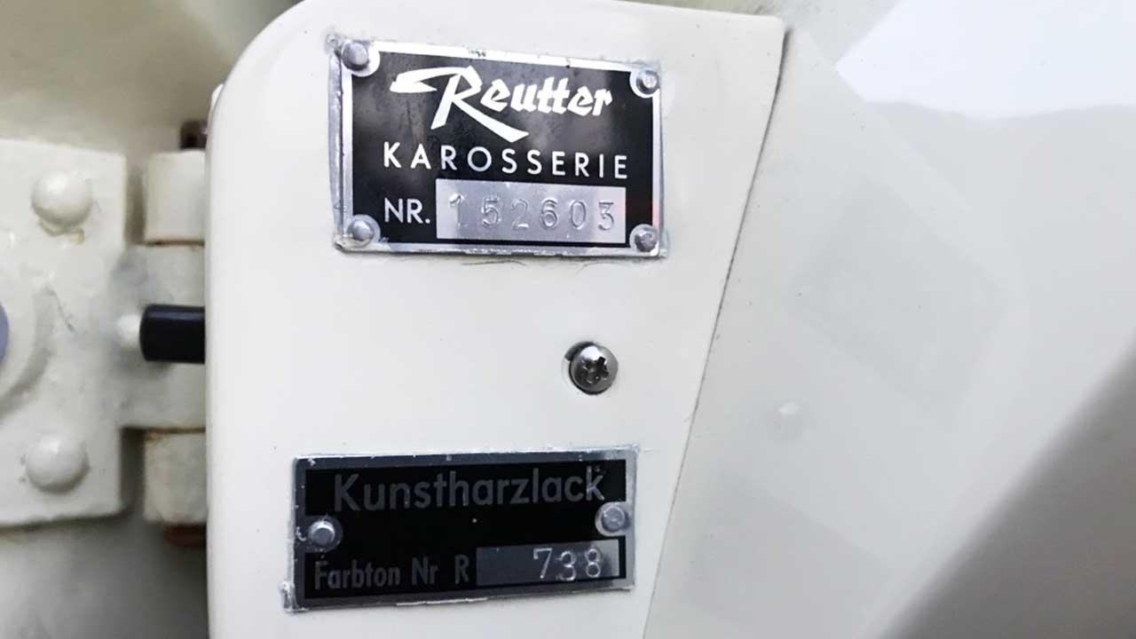 AIL Porsche 356 B 1600 Super Cabrio Informationen zur Karosserie und Lackierung