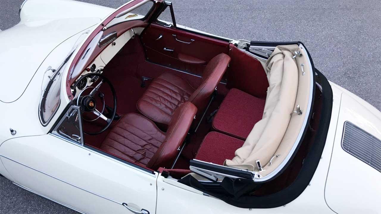 AIL Porsche 356 B 1600 Super Cabrio Innenraum
