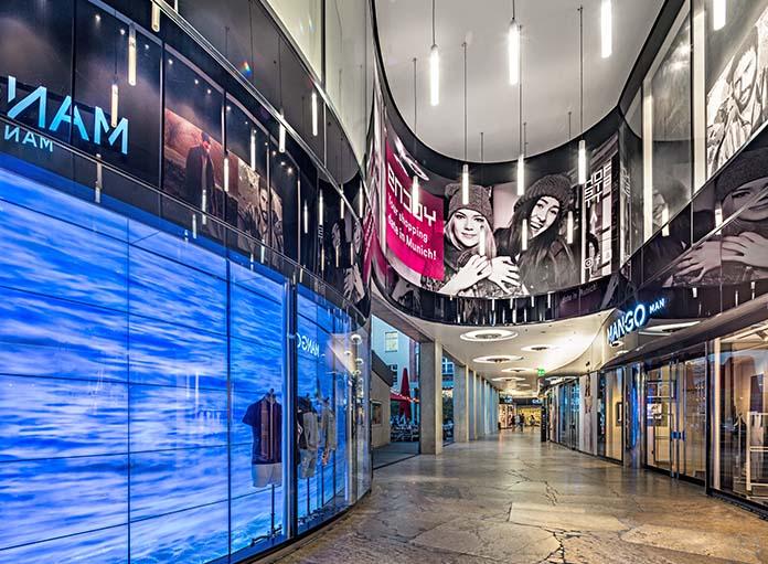HOFSTATT Passage innen mit diversen Läden