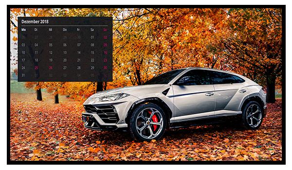 AIL Desktophintergrund Kalender Dezember 2018