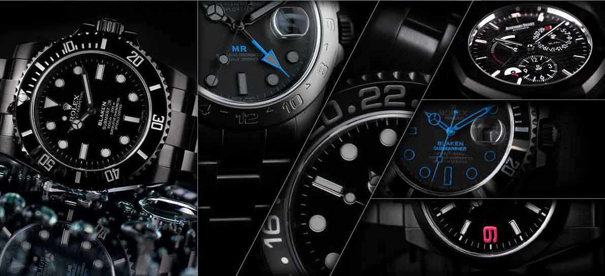 Blaken Uhren Collage 2