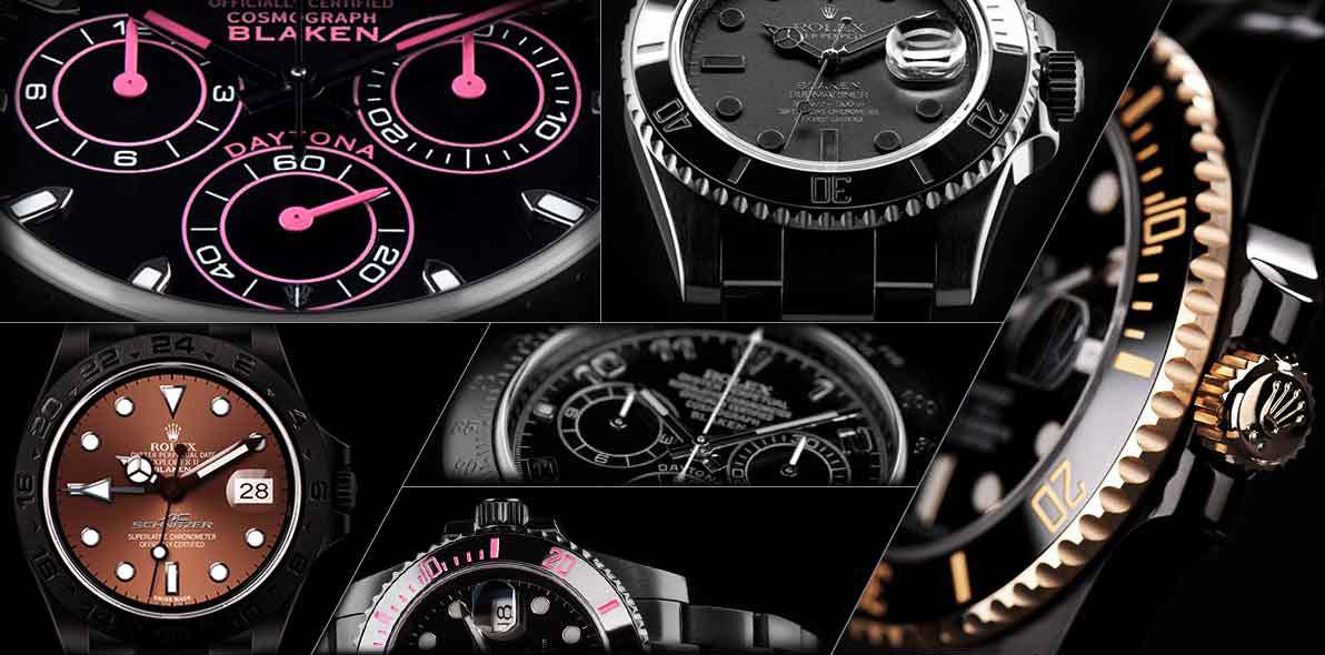 Blaken Uhren Collage 1