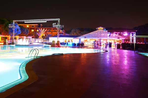 Club Nobilis Partynacht am Pool