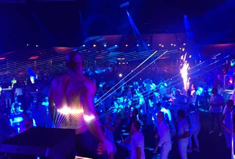Club Nobilis Party nachts