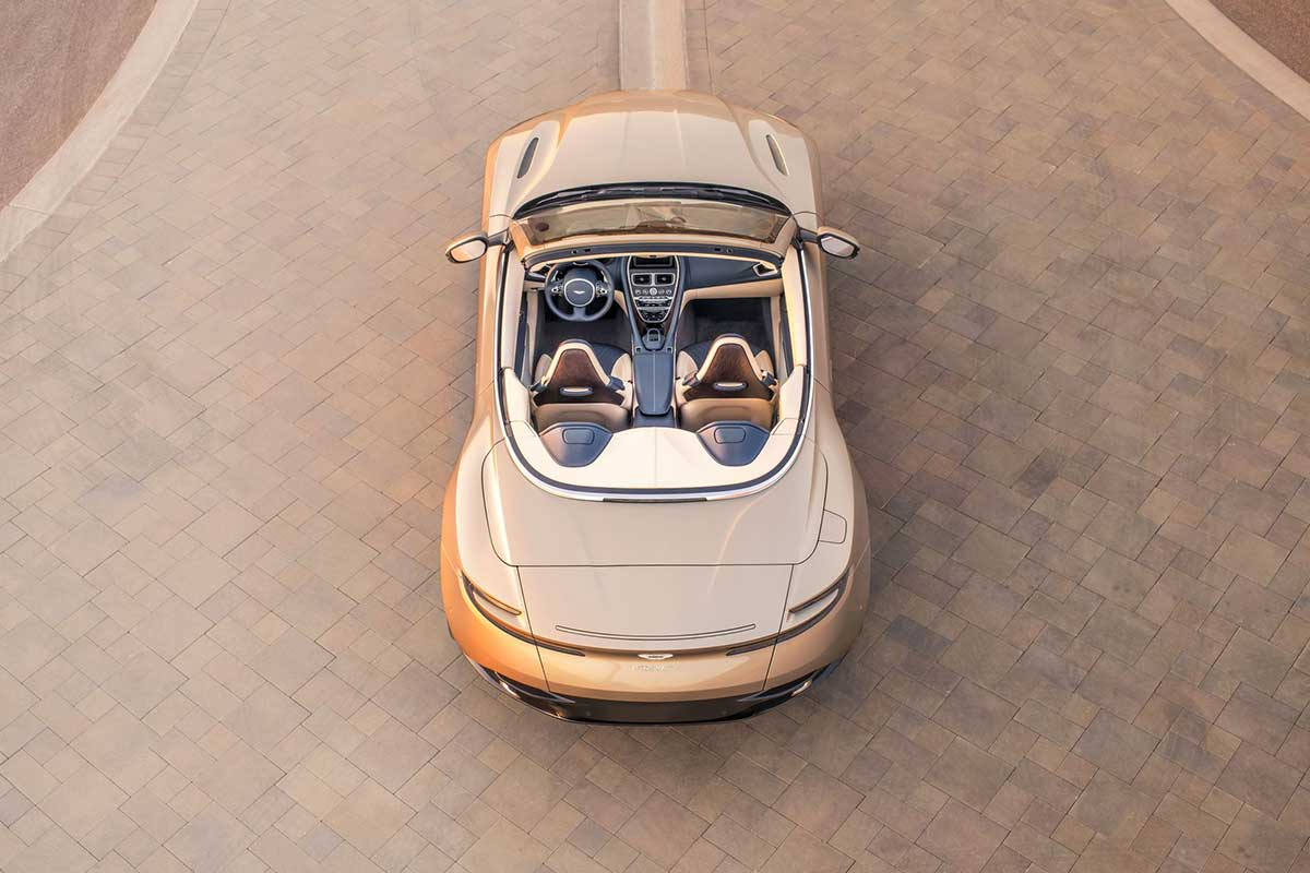 Aston Martin DB11 bei AIL Leasing München