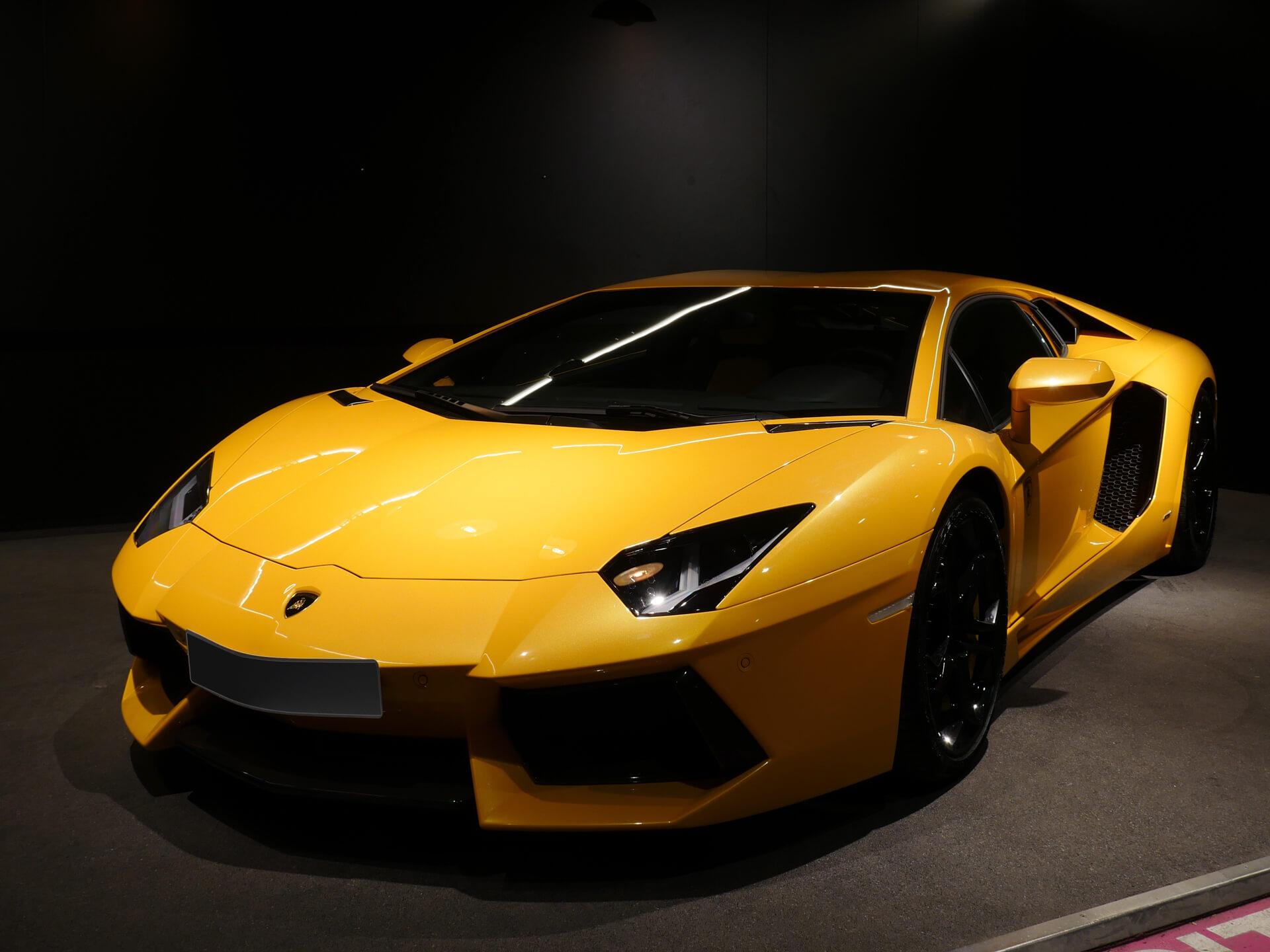 AIL Lamborghini Aventador LP 700-4 Imperione Giallo Orion Pearl 1