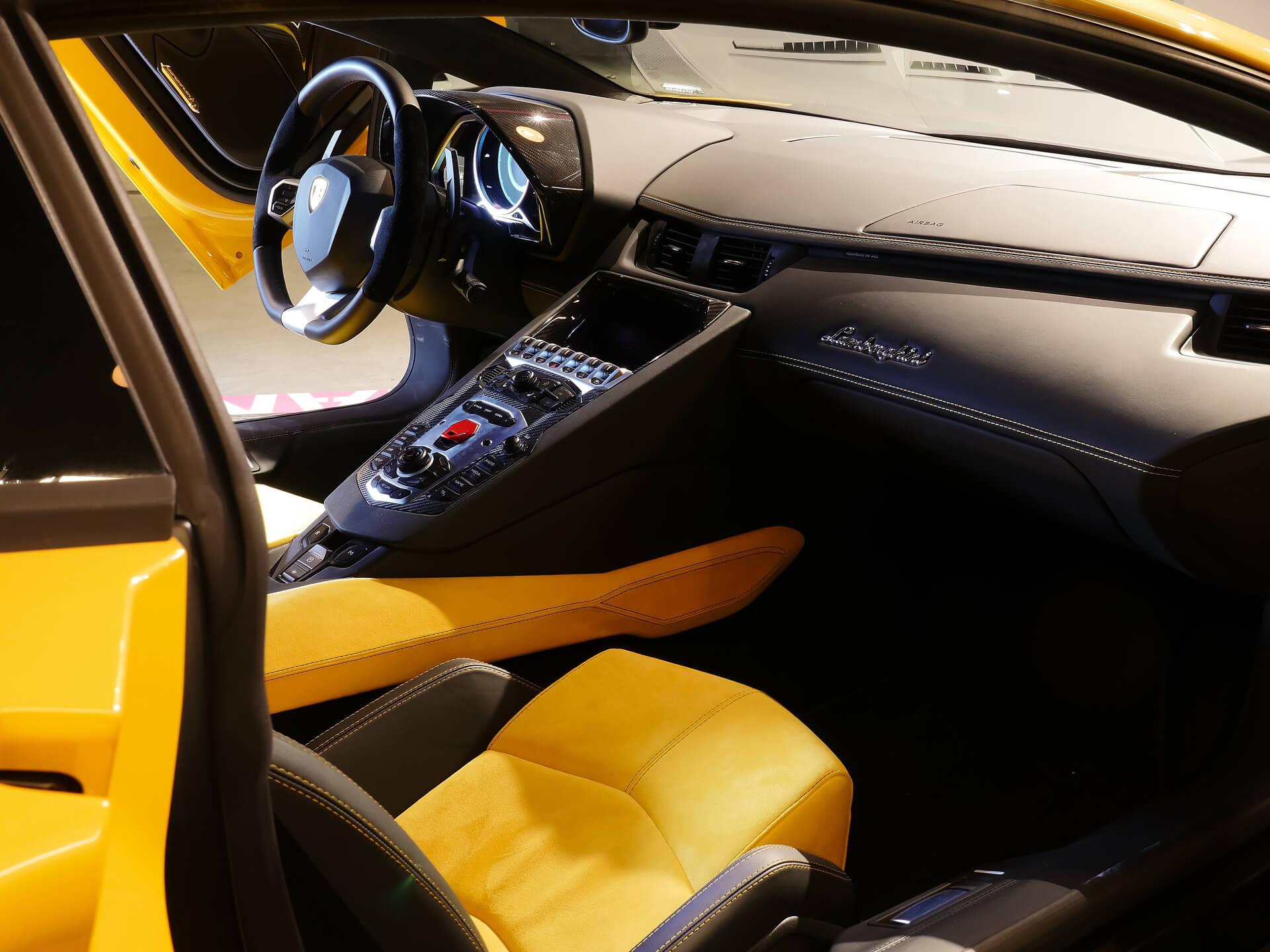 AIL Lamborghini Aventador LP 700-4 Imperione Giallo Orion Pearl 4