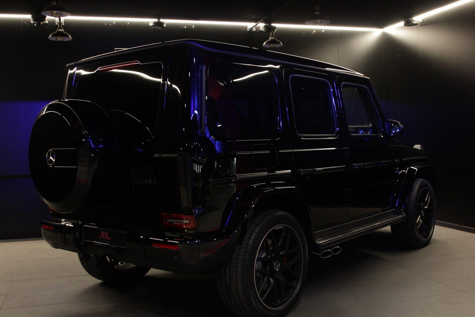 AIL Mercedes-Benz G 63 AMG Carbon Paket Burmester 9