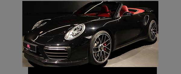 AIL Porsche 911 991 Turbo Cabrio LED Carbon Sitzbelüftung
