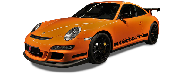 ID: 10104, AIL Porsche 997 GT3 RS Club Sport Paket Orange