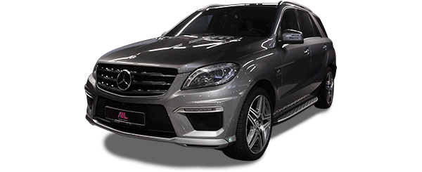 ID: 53935, AIL Mercedes-Benz ML 63 AMG Driver's Package