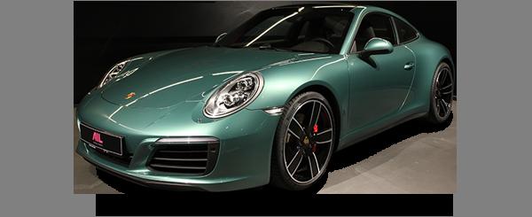 AIL Porsche 911 991 4S Racinggreen Individual  Sport Chrono