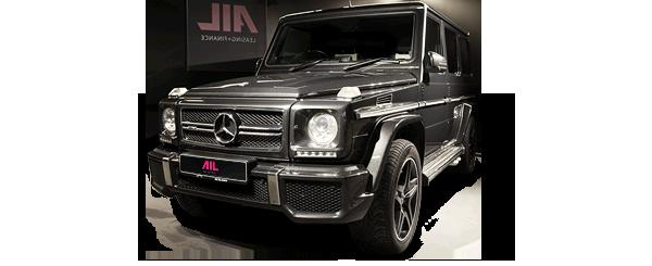 ID: 12088, AIL Mercedes-Benz G 63 AMG Designo Leder Rear Seat