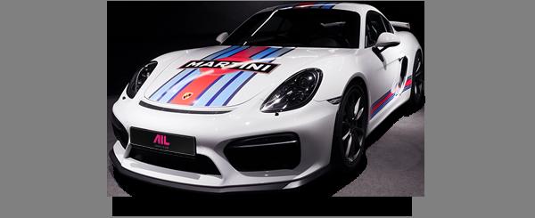 AIL Porsche Cayman GT4 Clubsport Martini