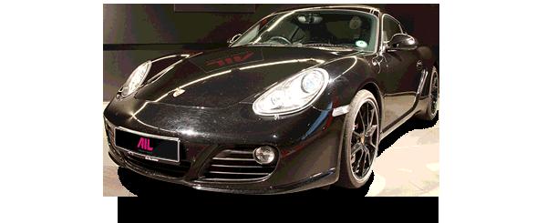 ID: 12289, AIL Porsche Cayman S Black Edition PDK Sport Chrono