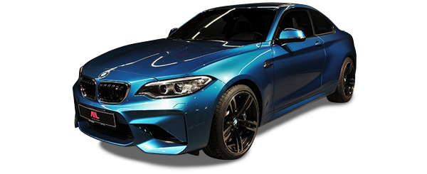 AIL BMW M2 LONG BEACH BLUE DKG