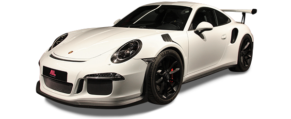 AIL Porsche 991 GT3 RS Sound-Package Plus Lift Pure White