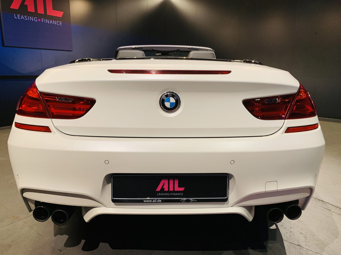 AIL BMW M6 Competition drivers package 10
