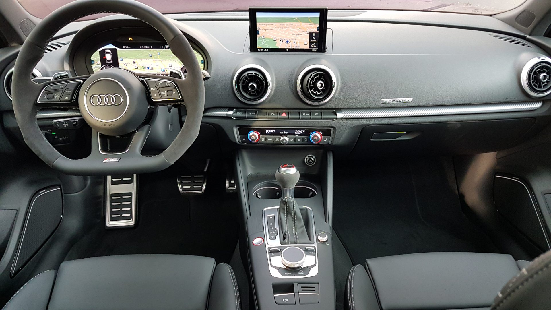 AIL Audi RS3 Sportback Matrix Panorama Virtual Cockpit 5