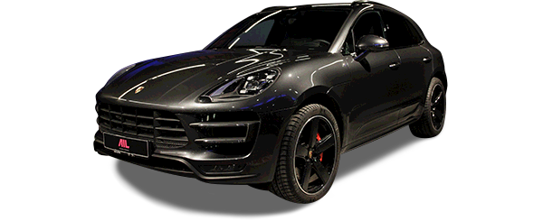 AIL Porsche Macan Turbo Performance Paket LED Sportabgas