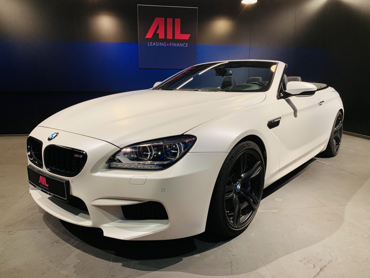 AIL BMW M6 Competition drivers package 2