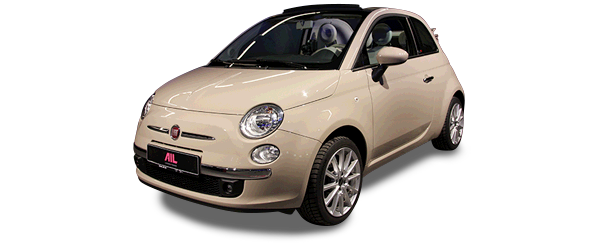 AIL Fiat 500 Cabrio Lounge