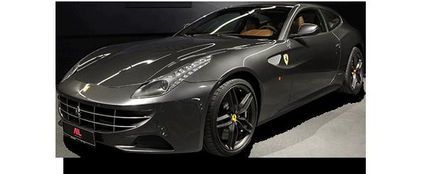 ID: 22656, AIL Ferrari FF Grigio Silverstone