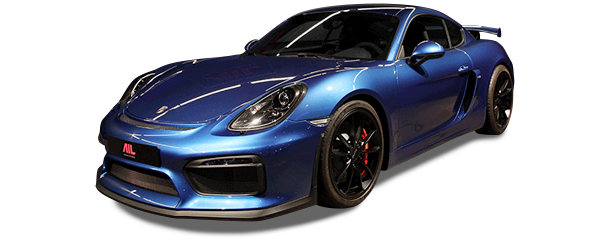 AIL Porsche Cayman GT4 Sound-Package Plus