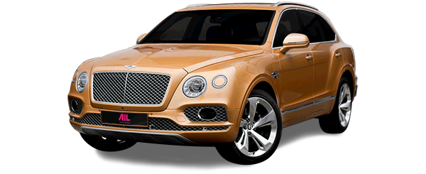 AIL Bentley Bentayga W12 Rear Seat Entertainment