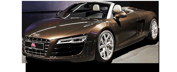 ID: 29951, AIL Audi R8 Spyder V10 Exclusiv Paket Bi-color