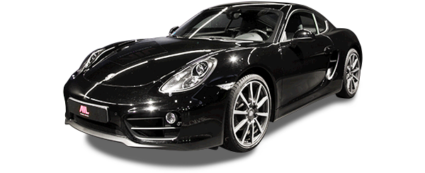ID: 30603, AIL Porsche Cayman Black Edition Approved Sound-Package-Plus