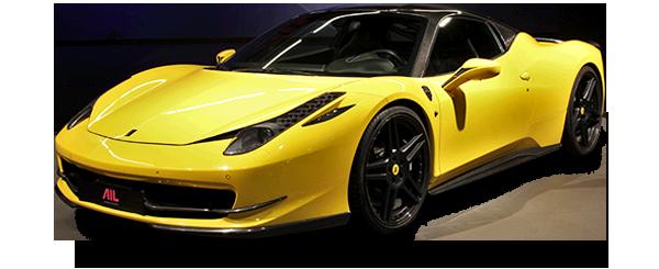 AIL Ferrari 458 Italia Novitec Lift