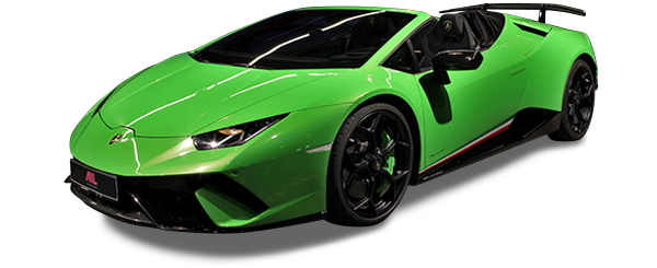 AIL Lamborghini Huracan Performante Spyder LP 640-4 Verda Mantis