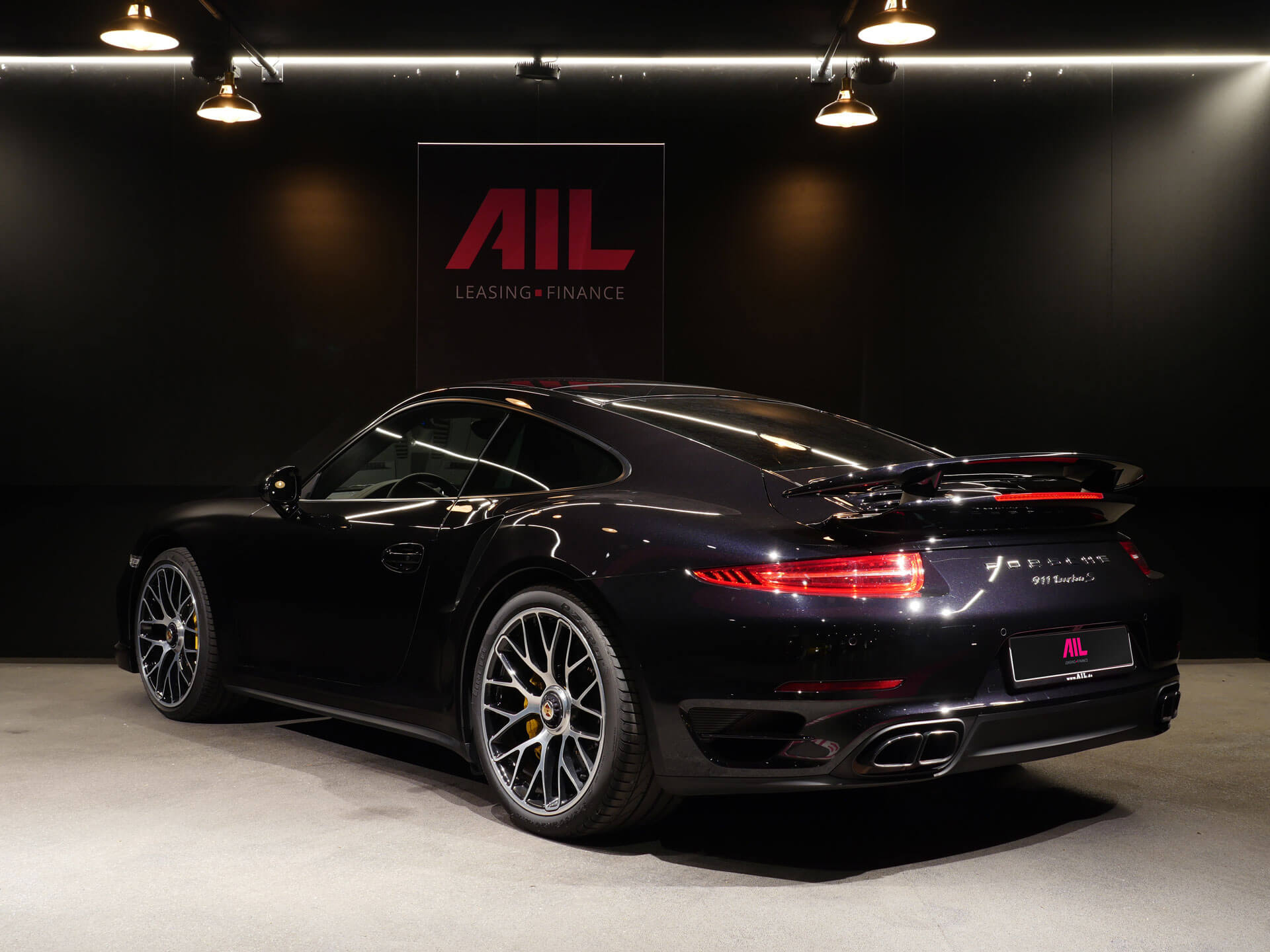 AIL Porsche 911 991 Turbo S Ceramic LED Sport Chrono Paket 1