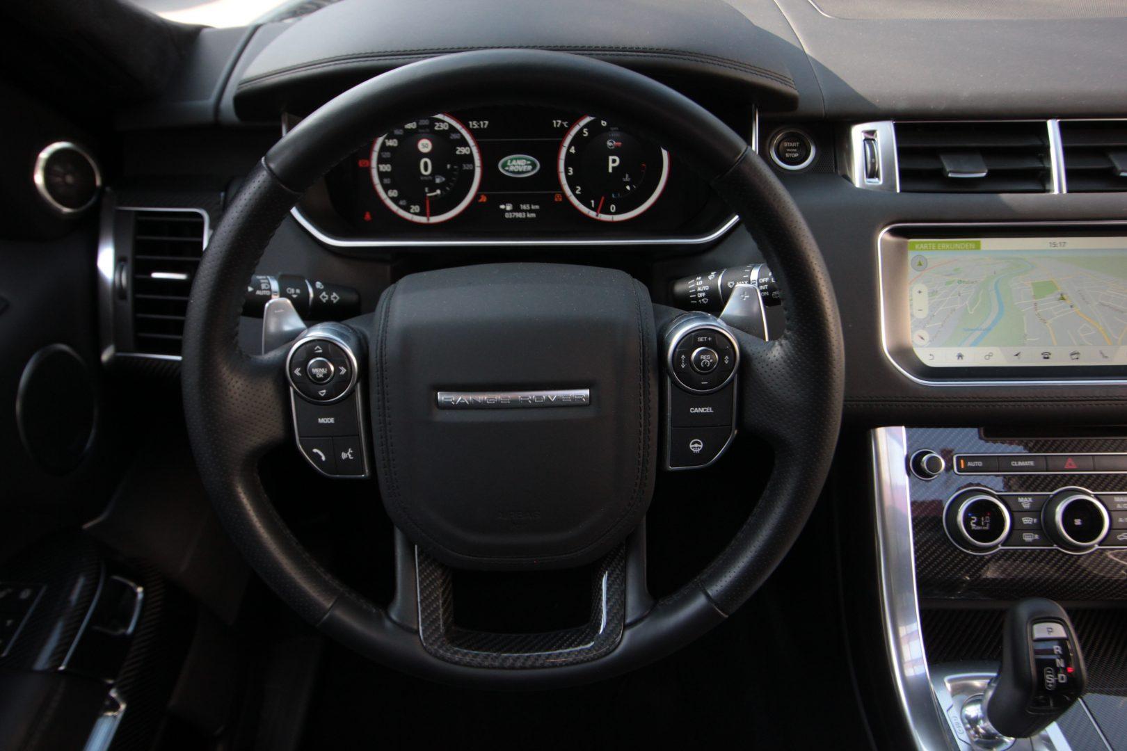 AIL Land Rover Range Rover Sport SVR 4