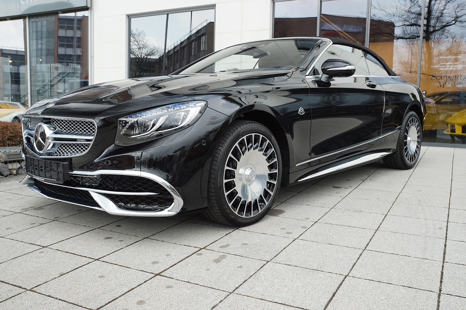 AIL Mercedes-Benz Maybach S 650 V12 Cabriolet 8
