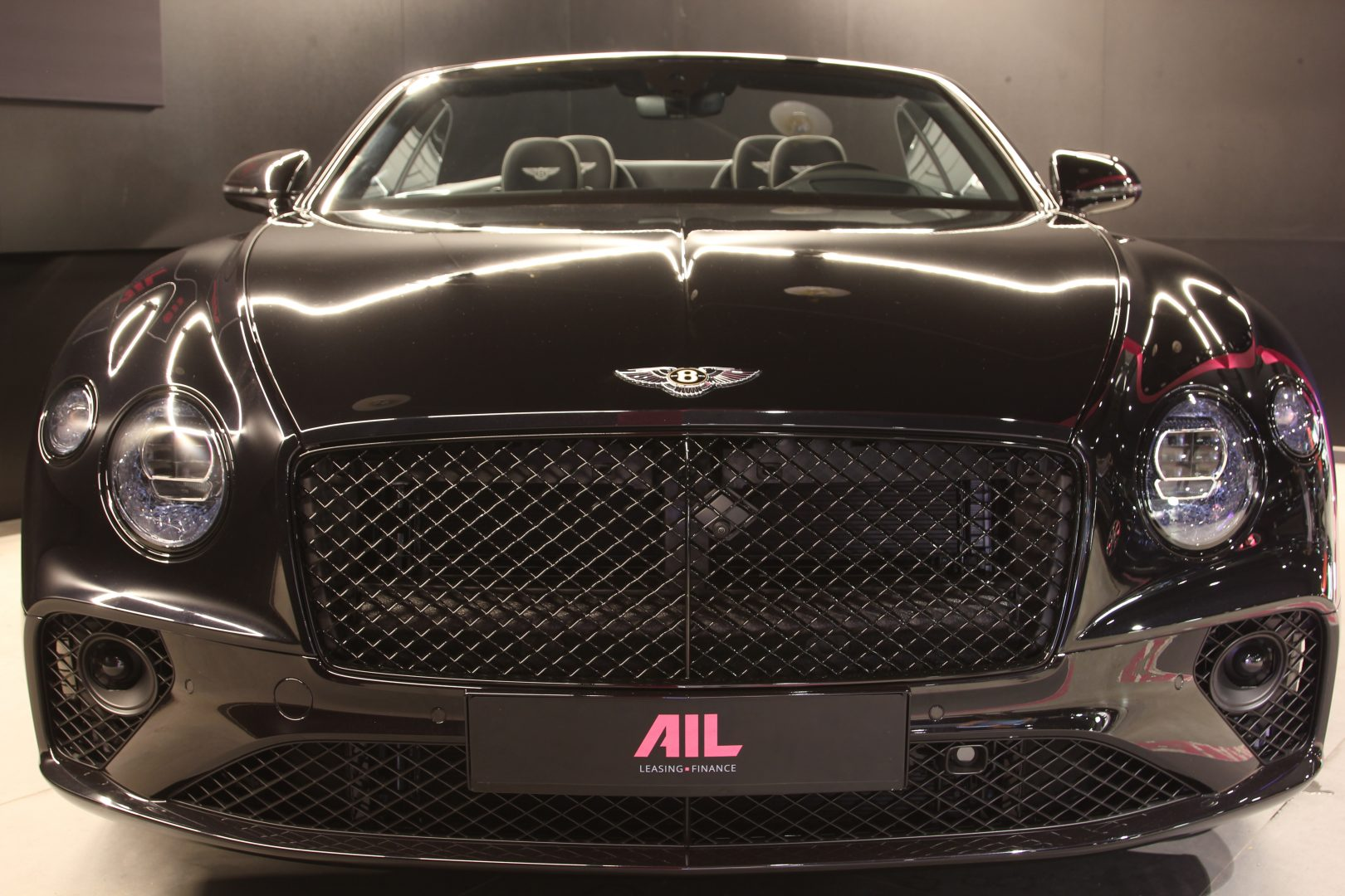 AIL Bentley Continental GTC Black line 8