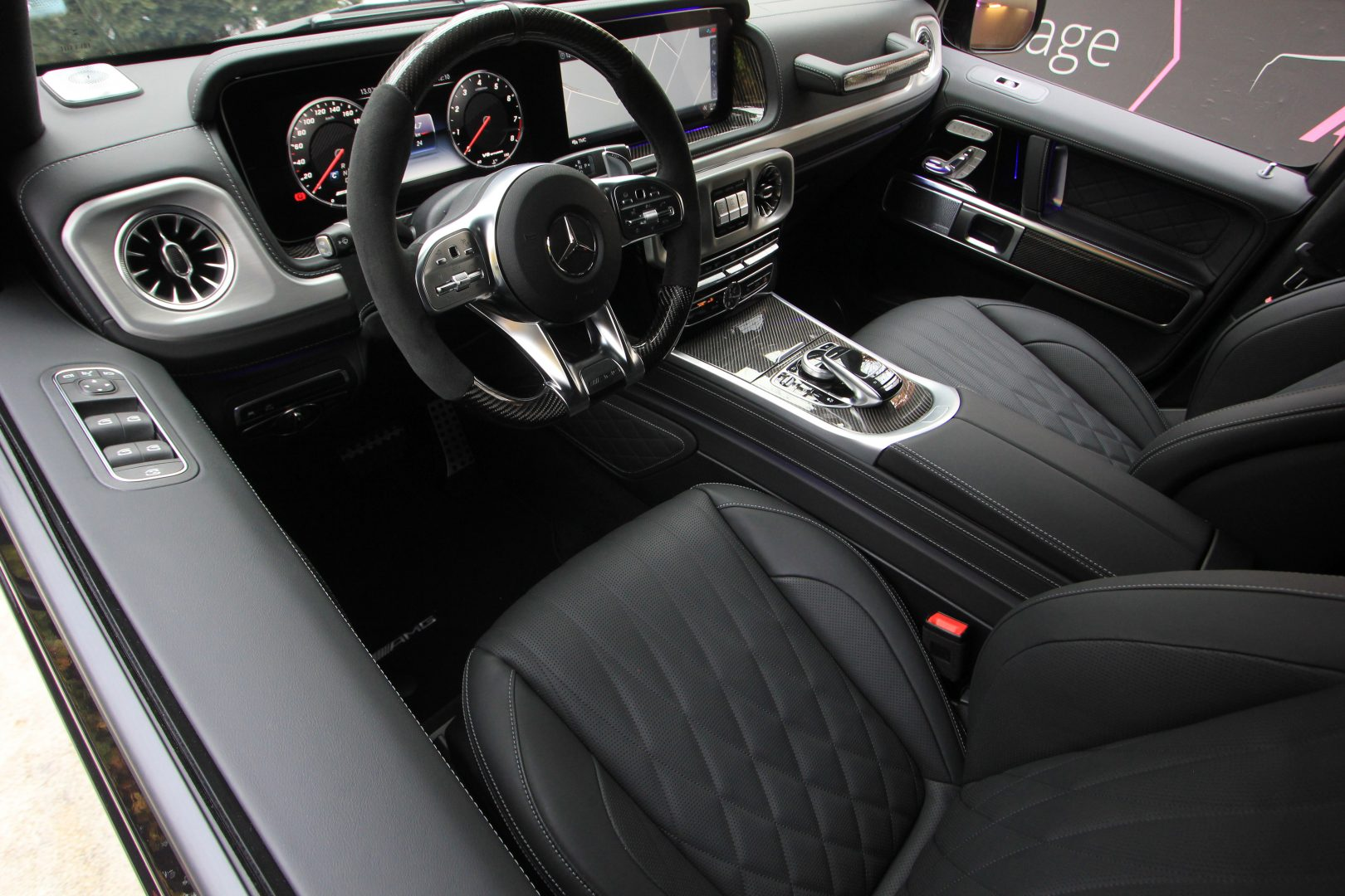 AIL Mercedes-Benz G 63 AMG Carbon Paket Burmester 4