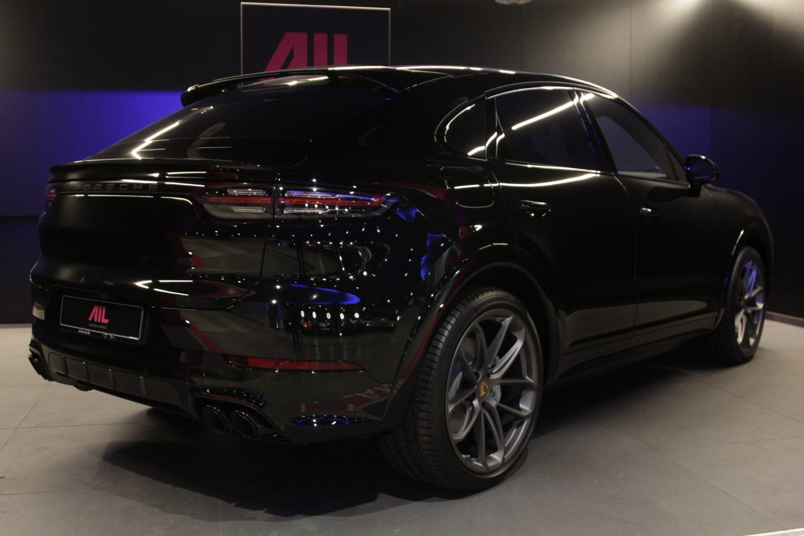 AIL Porsche Cayenne Turbo Coupe LED Matrix  Carbon 9