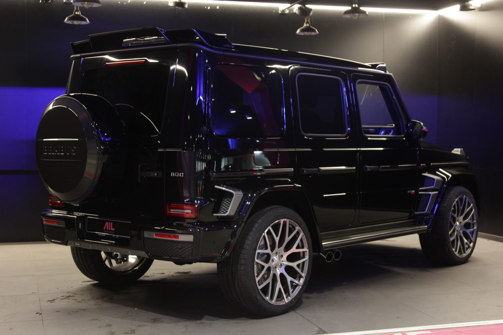 AIL Mercedes-Benz G63 Edition1 BRABUS 800 3