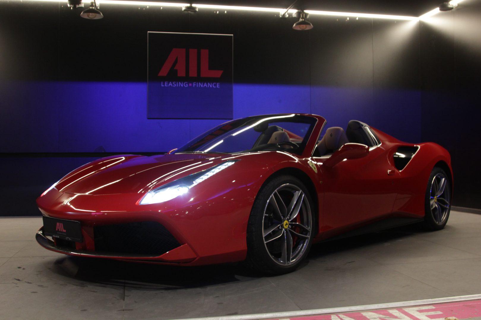 AIL Ferrari 488 Spider 4