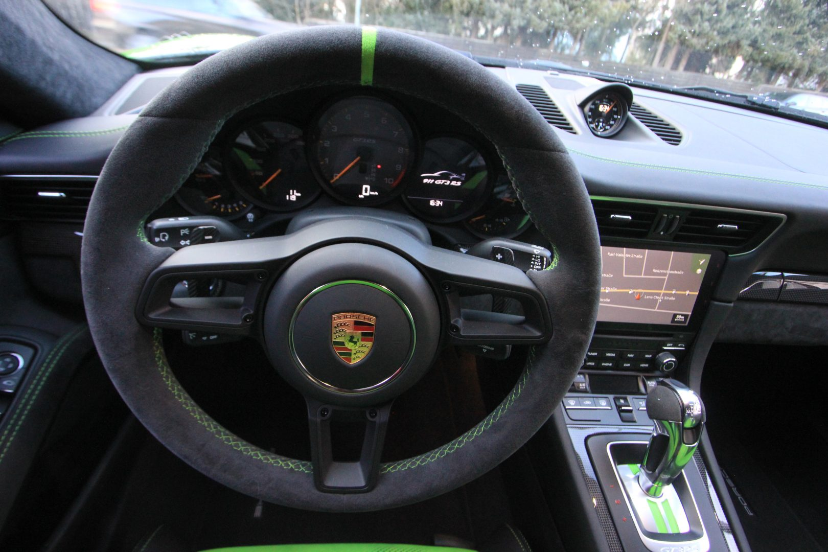 AIL Porsche 991 GT3 RS Weissach-Paket 1
