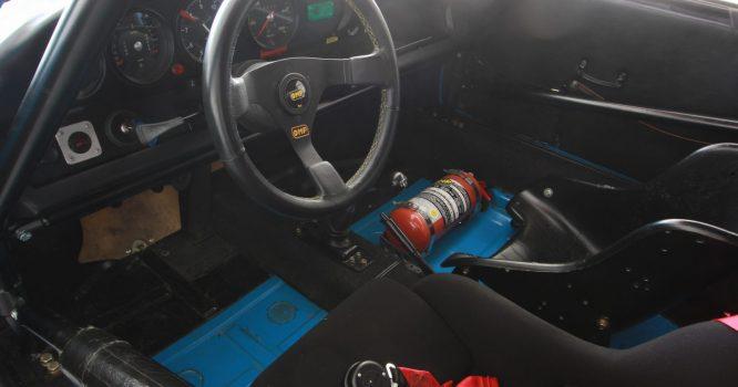AIL Porsche 911 2.3 ST Rennfahrzeug Innenraum