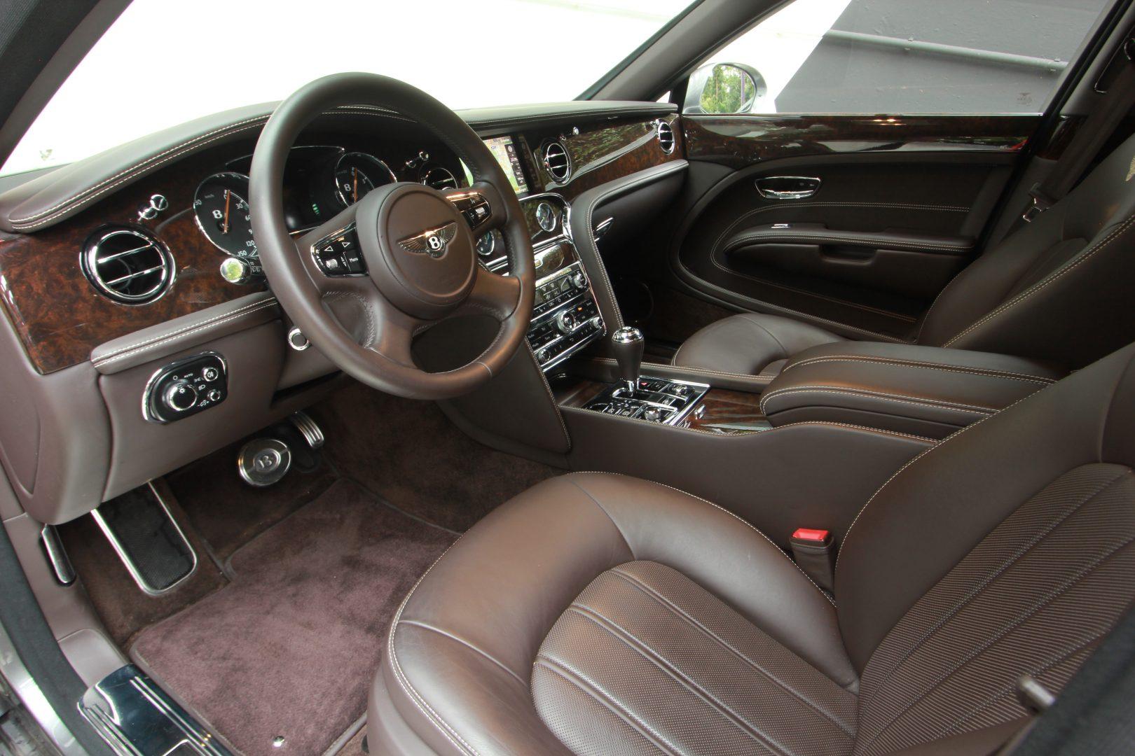 AIL Bentley Mulsanne Dark Stained BurrWalnut 2