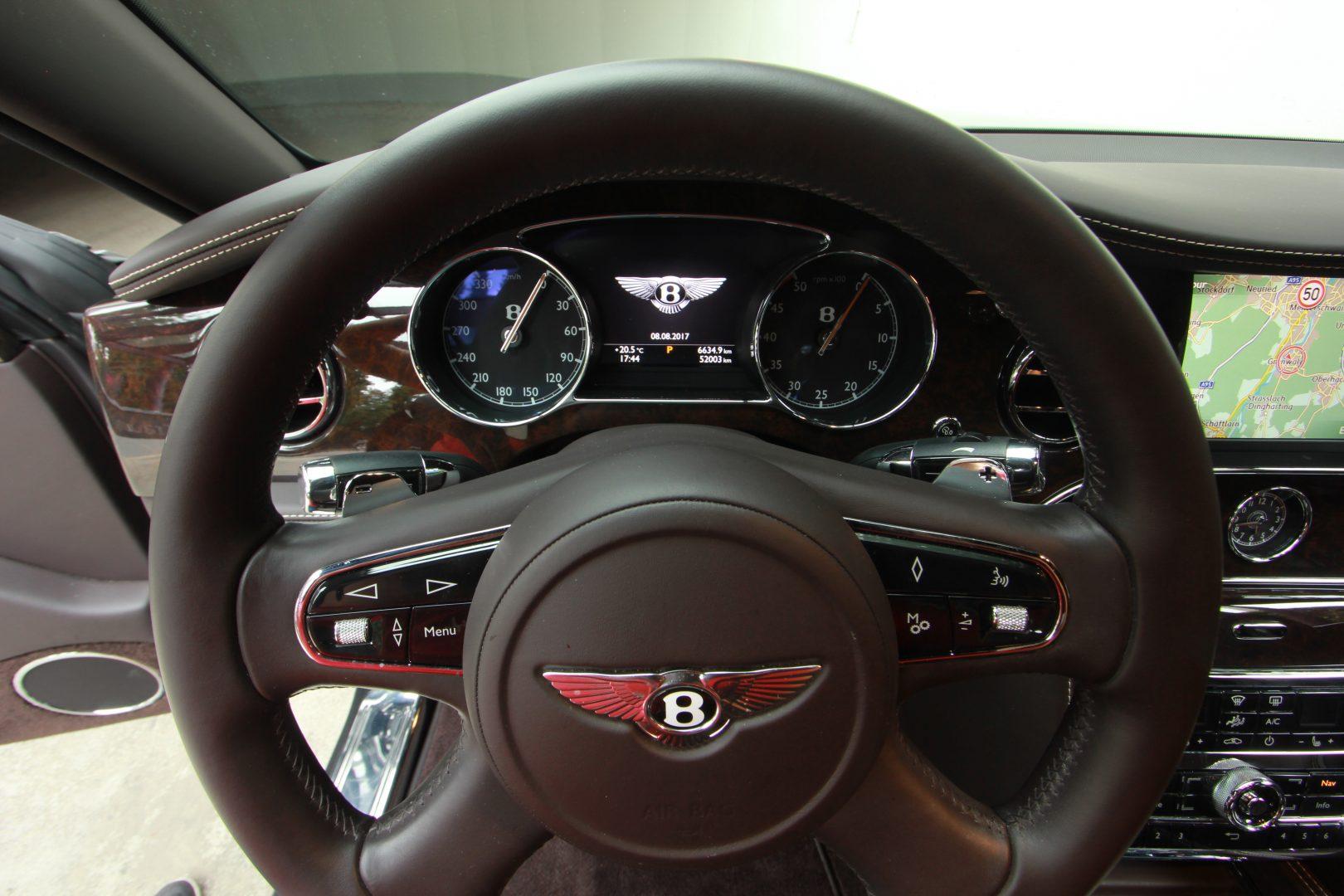 AIL Bentley Mulsanne Dark Stained BurrWalnut 4